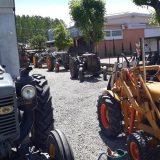 Ultimi preparativi per il raduno trattoristico di Cavezzo