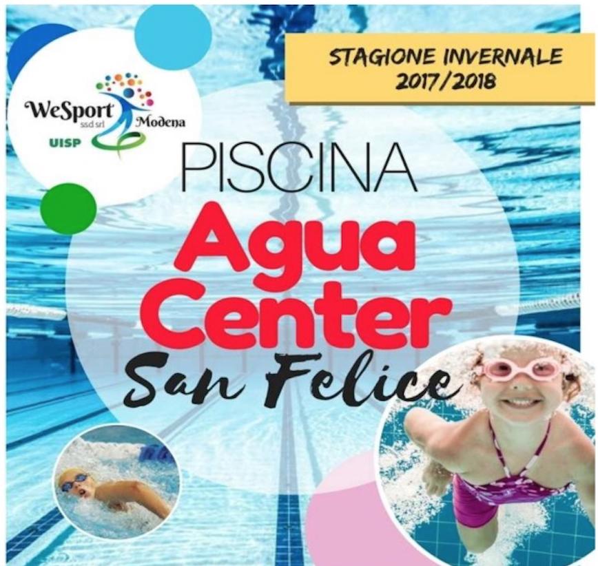 """Al via il corso da istruttore di nuoto alla Piscina """"Agua Center"""" di San Felice sul Panaro"""